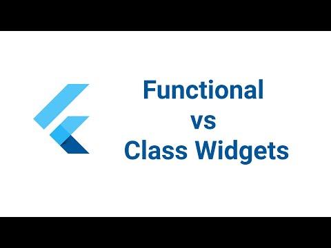 Functional Widgets vs Class Widgets in Flutter | Flutter Clean Code