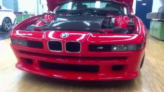 homepage tile video photo for BMW M8 at secret M facility
