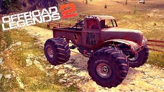 OFFROAD LEGENDS 2 гонки МОНСТР ТРАКИ monster truck прохождение игры #1