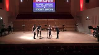 Ramin Amin Tafreshi - Sozale miniature version - for Saxophone Quartet