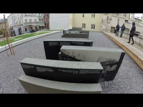 "Lviv memorial to the ""Synagogue Space"""