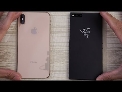 iPhone XS Max vs Razer Phone - Speed Test! Can a Razer slice this Apple?