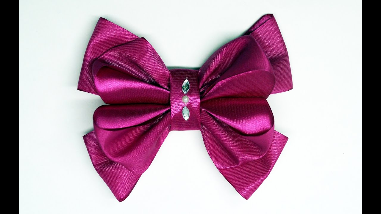Diy crafts how to make simple easy bow ribbon hair bow tutorial diy crafts how to make simple easy bow ribbon hair bow tutorialdiy ribbon bow diy beauty and easy baditri Image collections