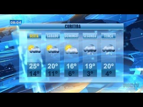 Previsão do tempo: fim de semana tem previsão de temperaturas baixas em Curitiba