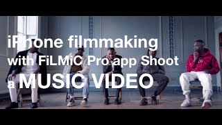iPhone filmmaking with FiLMiC Pro and Smooth 4 gimbal - shoot a Music Video