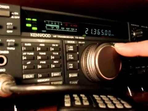 Ham radio contact :J5UAP Guinea Bissau i 21 MHz by IZ2JRK Italy.