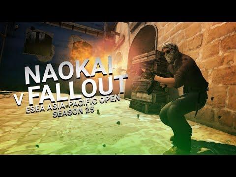 CS:GO Highlights - Naokai vs Fallout Gaming