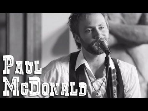 Paul McDonald of The Grand Magnolias - American Dreams - Live