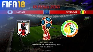 FIFA 18 World Cup - Japan vs. Senegal @ Ekaterinburg Arena (Group H)