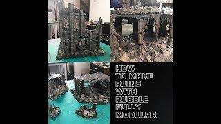 Baixar Kill Team Fully modular Rubble Ruins: Sector Imperialis Cheap And Easy Terrain