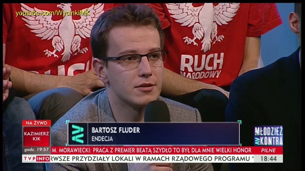 Młodzież kontra 621: Bartosz Fluder (Endecja) vs Ryszard Czarnecki (PiS) 09.12.2017