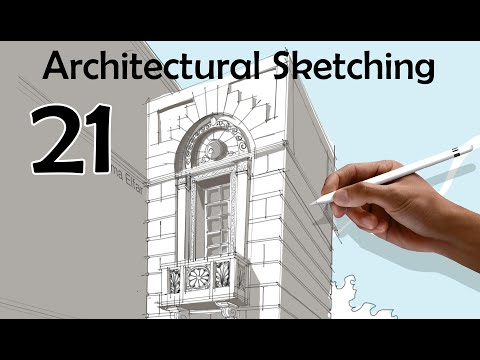Architectural Sketch challenge Day 021