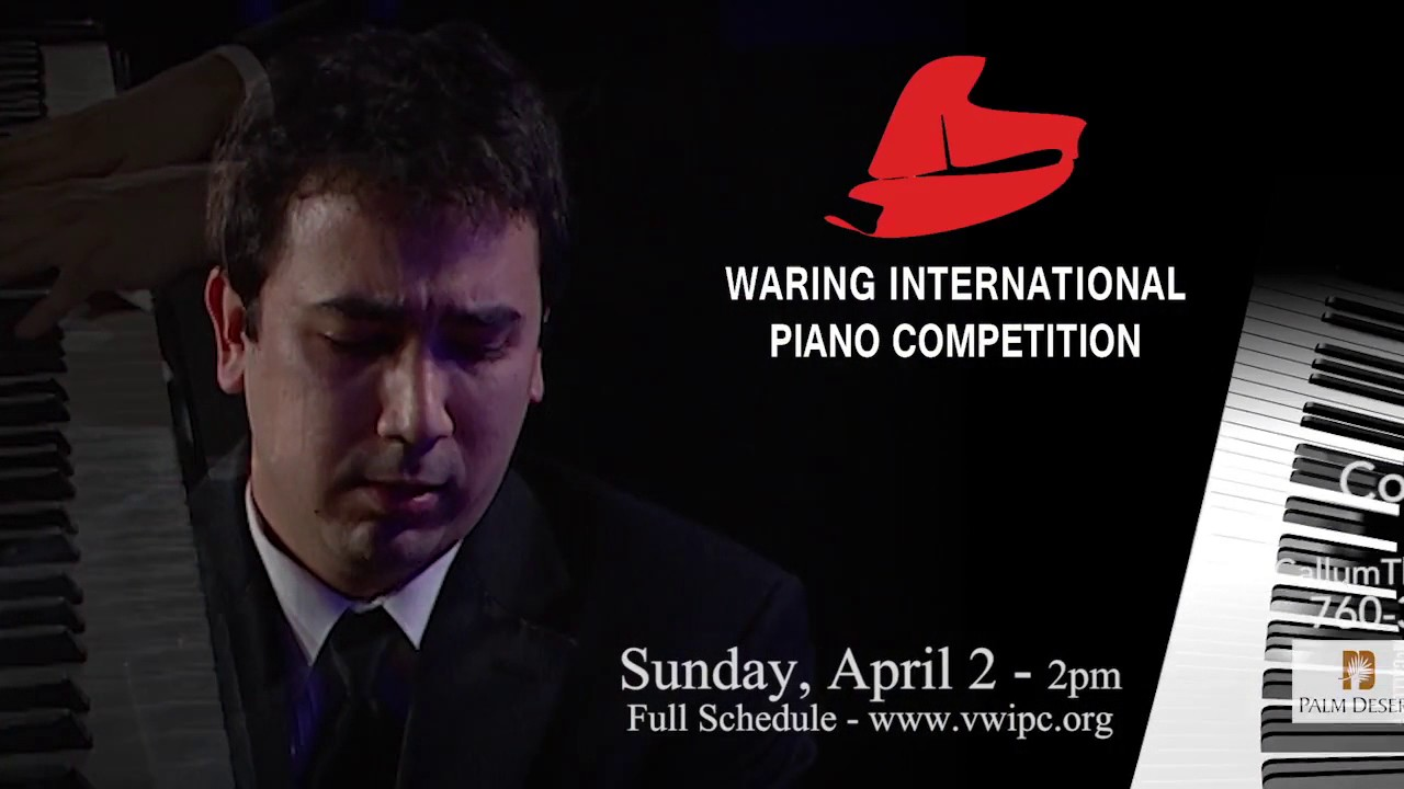 Past Competitions - Waring International Piano Competition