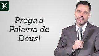 """""""Prega a Palavra de Deus!"""" - Leandro Lima"""