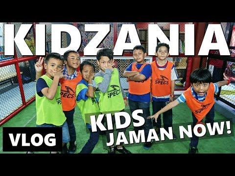 KIDS JAMAN NOW MAIN DI KIDZANIA JAKARTA | Vlog Keluarga | Vlog Indonesia
