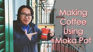 How to Brew Your First Cup of Coffee Using Moka Pot