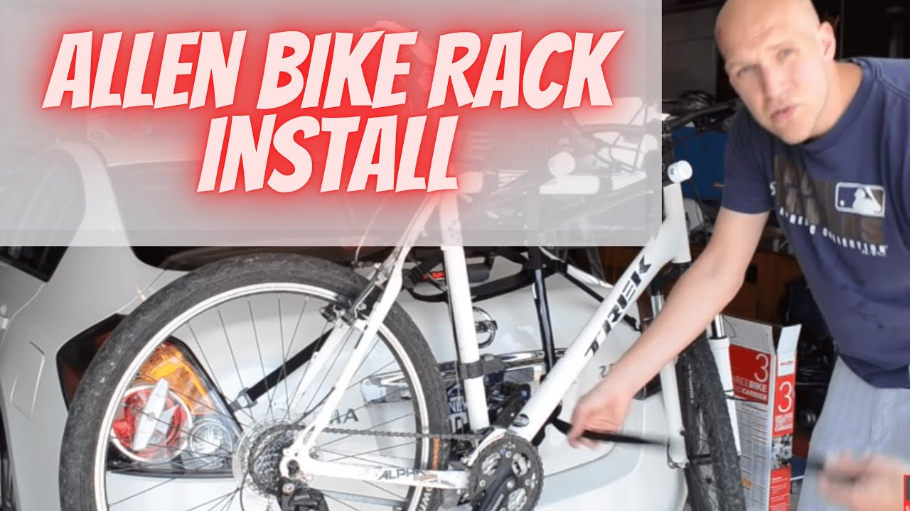 Allen Sports Bike Rack Installation And Setup Guide Youtube
