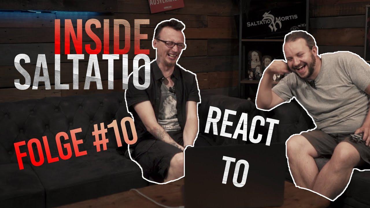 Die 10 verrücktesten Einsendungen zum neuen Video | React to | Saltatio Mortis