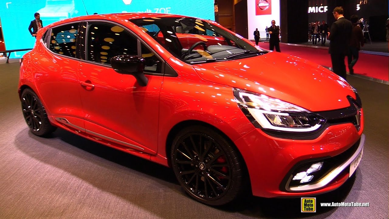 2017 renault clio rs exterior and interior walkaround 2016 paris motor show youtube. Black Bedroom Furniture Sets. Home Design Ideas