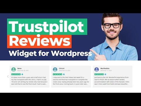 TRUSTPILOT REVIEWS Widget Plugin for Wordpress [2021]