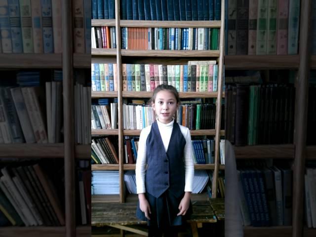 Изображение предпросмотра прочтения – ВикторияКунгурцева читает произведение «Лебедь, Рак и Щука» И.А.Крылова