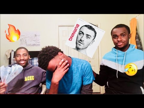 BURNING- Sam Smith (REACTION/REVIEW)!!!