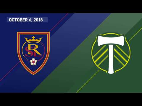 HIGHLIGHTS: Real Salt Lake vs. Portland Timbers | October 6, 2018