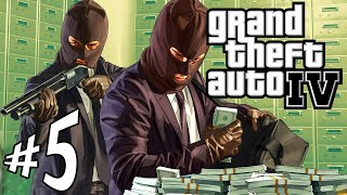 GTA 4 - Parte 5: O Grande Assalto ao Banco!!!! [ PC - Playthrough ]