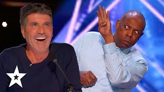 Police Academy Actor WOWS Simon Cowell on America's Got Talent 2021| Got Talent Global