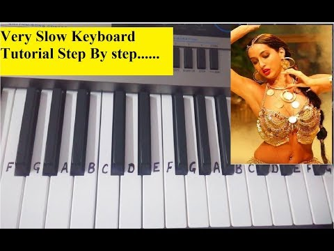 DILBAR Dilbar|Trending| keyboard tutorialHarmonium |Piano| Very easy