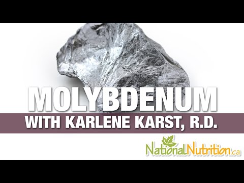 Professional Supplement Review Molybdenum