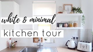 KITCHEN TOUR UK | SMALL KITCHEN ORGANISATION & STORAGE