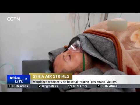 Warplanes reportedly hit Syrian hospital treating