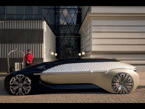 Renault Ez Ultimo Concept Renault S Extraordinary Future Luxury Self