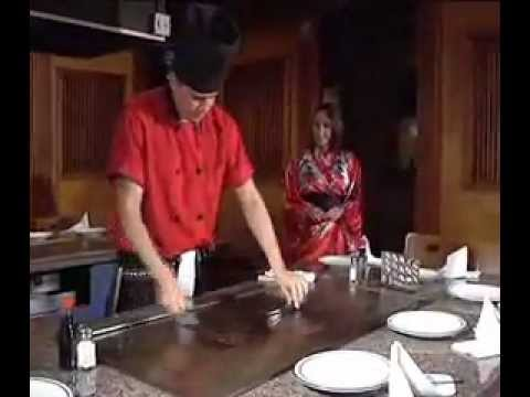 Chef Miguel At Sato Japanese Steakhouse