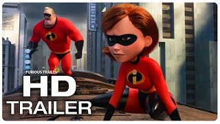 INCREDIBLES 2 Movie Clip Underminer Opening Fight Scene + Trailer (NEW 2018) Superhero Movie HD