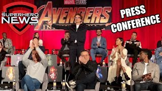 Marvel Studios' Avengers: Infinity War Press Conference