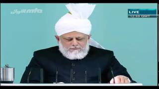 (English) Friday Sermon 22 October 2010 Part 4/5