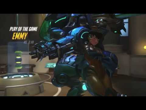 Overwatch D.va POTG- Quin! Emmy- destroyer of teams!