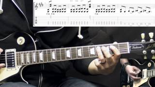 Gary Moore - Walking By Myself - Blues Guitar Lesson (w/Tabs)