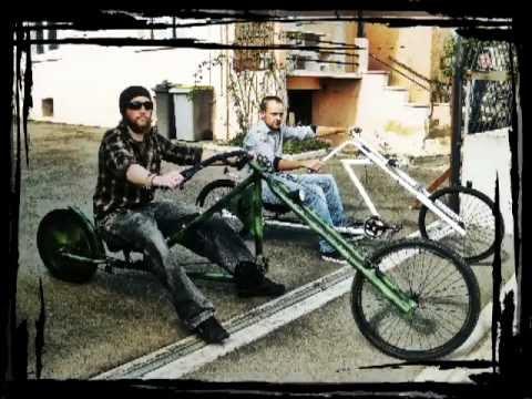Vélo Chopper Army Camo Custom Bike !! BADCHOP Bicycle !! HOMEMADE !! DIY