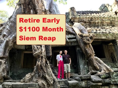 Retire Early $1100 Month Siem Reap Cambodia
