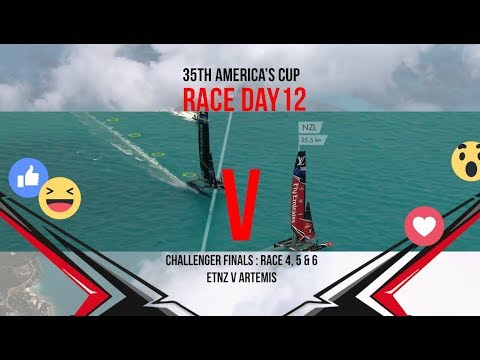 35th America's Cup: Race Day 12 Favourite Moments