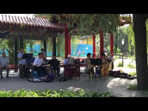 Live music in Lao Dong Park!  Dalian, China