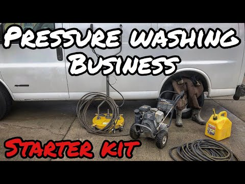 PRESSURE WASHING BUSINESS STARTER KIT: EVERYTHING YOU NEED