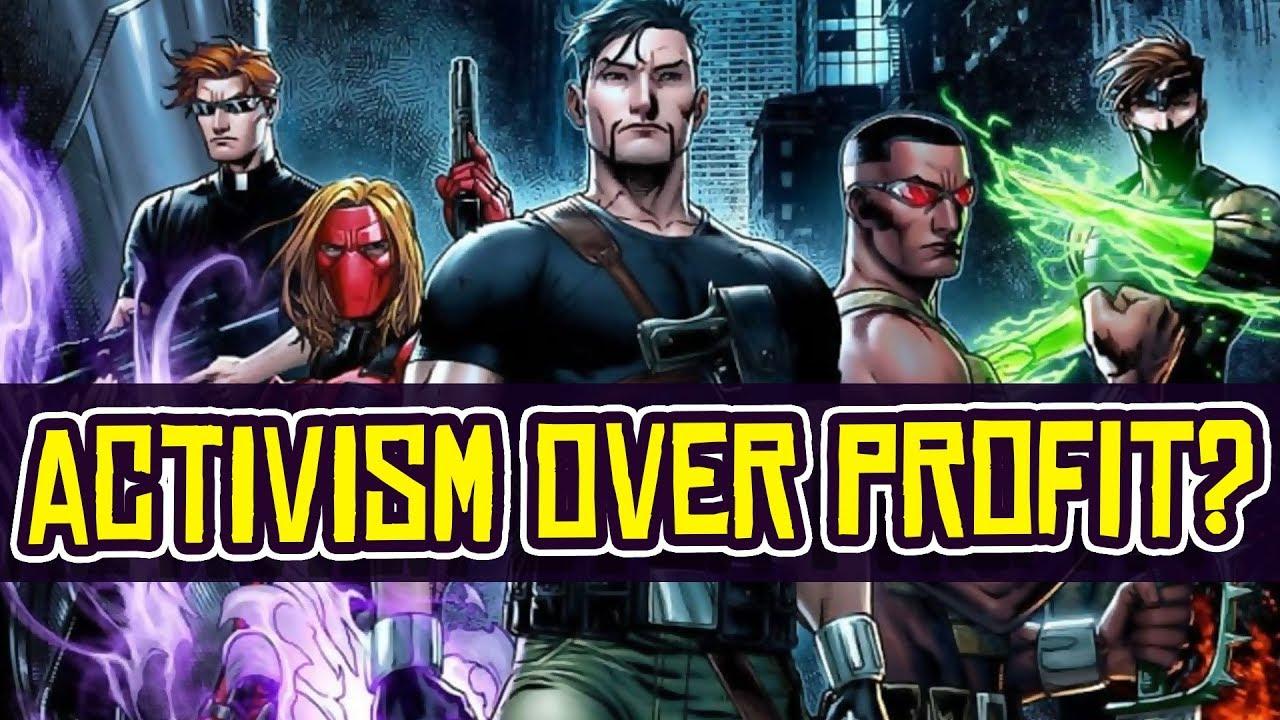 Comics Creators: Kickstarter Union Puts ACTIVISM Over PROFITS?