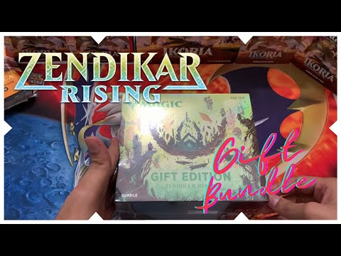 Magic The Gathering (MTG) Newbie Unpacks Zendikar Rising Gift Bundle, Is It Worth It?