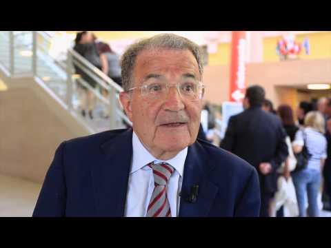 #scd2015 Intervista a Romano Prodi durante i Social cohesion days dal 4 al 6 giugno a Reggio Emilia.