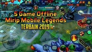 5 Game Mirip Mobile Legends Seru Offline Android Terbaik & Terkeren 2019 | Best Grafik Full HD