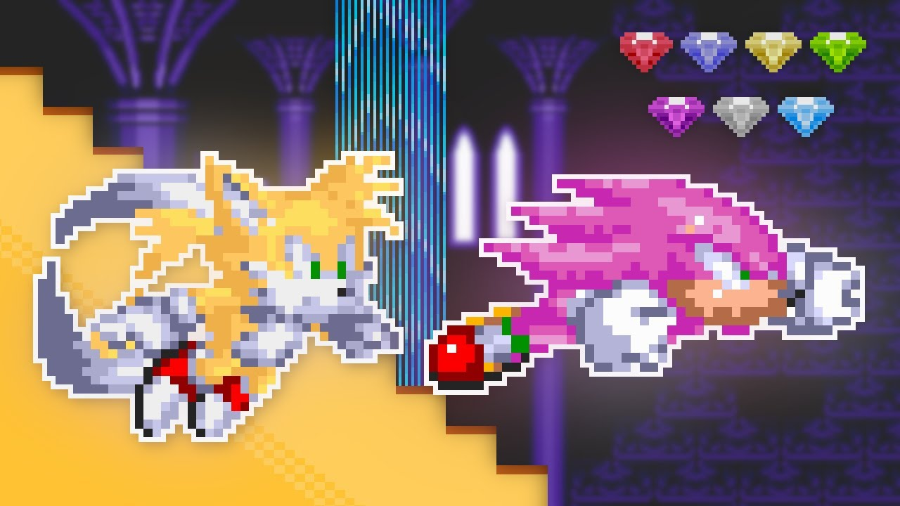 What if Knuckles & Tails had GOOD Super Forms?